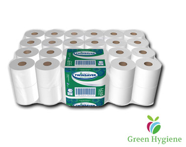 Toilet Paper - 2 Ply Twinsaver 0124 (SABS Approved)